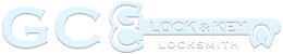 G.C. Lock and Key Mobile Logo